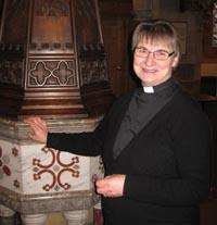 Rev'd Susanne Jukes : Vicar  Retired on 30th April 2020.